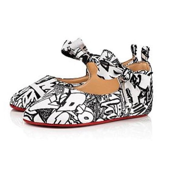 faaa9a1ccc3 Christian Louboutin Baby Girl Wallgraf Shoes